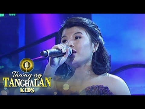 "Tawag ng Tanghalan Kids: Pauline sings ""Come In Out Of The Rain"""