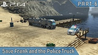 LEGO City Undercover - PS4 GAMEPLAY Save Frank and the Police Truck