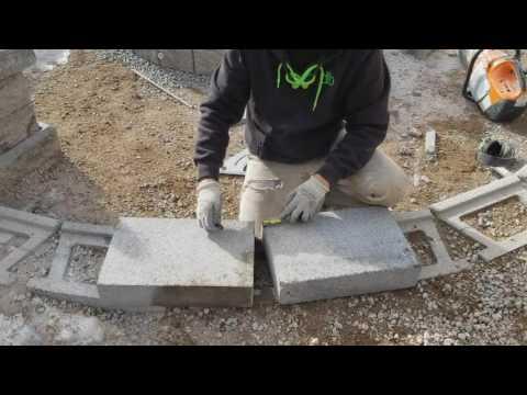 Cutting Retaining Wall Cap Block Doovi