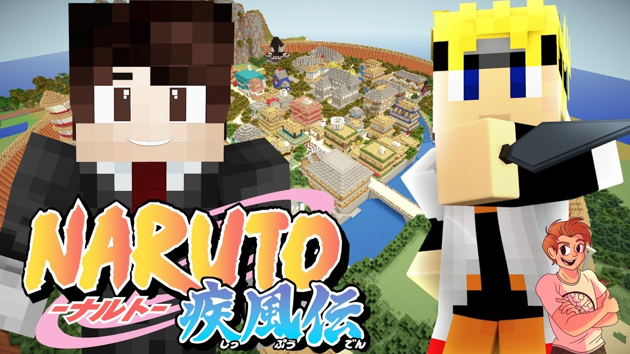 Minecraft NARUTO: Tale of Naruto - Part 2 (Minecraft Roleplay Map)