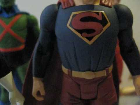 DC Direct New Frontier Action Figures Review