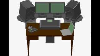 Home Studio Desk Mod Diy