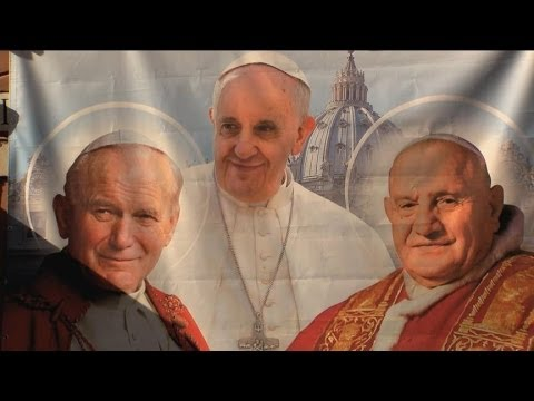 Two Popes to be Canonized