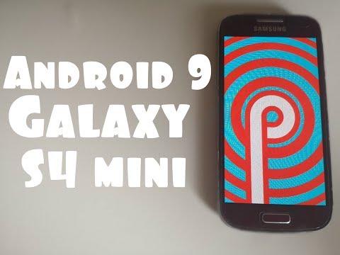 Установил Android 9 на Galaxy S4 Mini😜S9 НЕРВНО КУРИТЬ В СТОРОНКЕ🗣