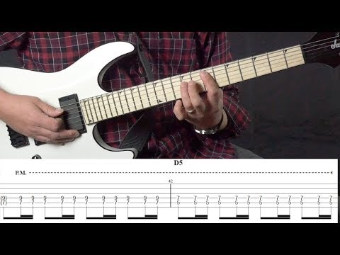 The Trooper - Guitar Lesson | Guitar Tutorial with Tabs