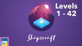 Shapecraft: Levels 1 - 42 Walkthrough & iOS / Android Gameplay (by Gamezaur)