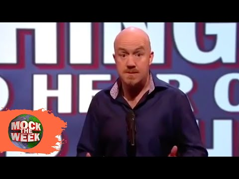 Unlikely Things To Hear On Dr Who - Mock The Week