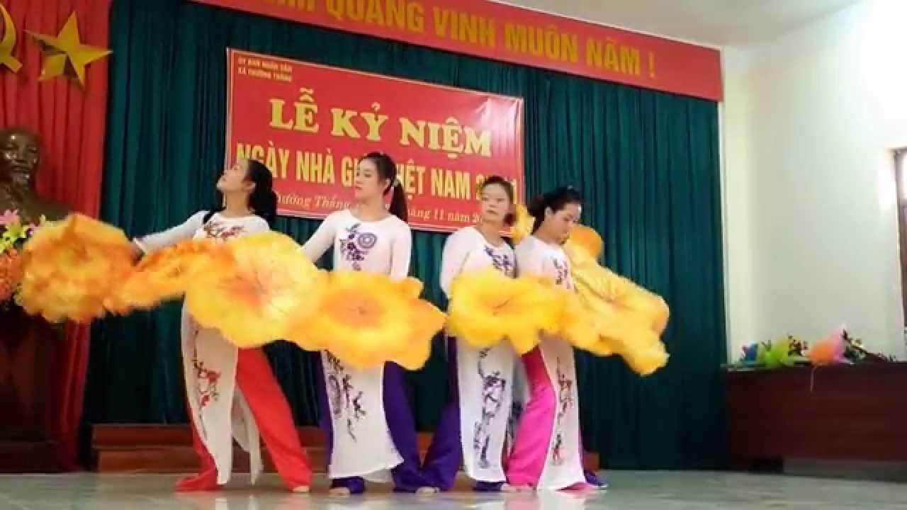 Bài ca cô giáo trẻ – Múa – Múa – Trường Mầm non Thường Thắng