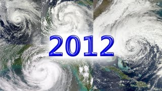 2012 Atlantic Hurricane Season Animation (Full)
