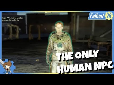 Fallout 76 Developer Room Contains The ONLY Human NPC! Players BANNED For Accessing! thumbnail