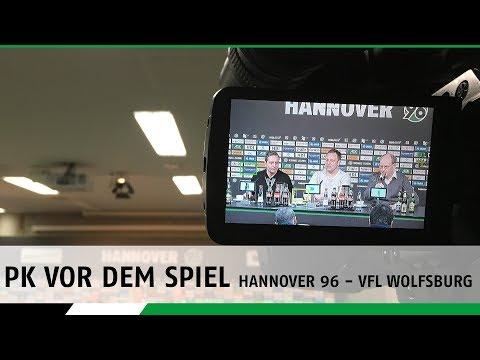 PK vor dem Spiel | Hannover 96 - VfL Wolfsburg