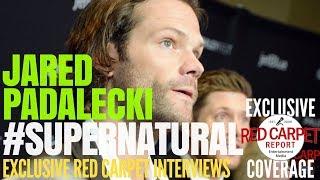 Jared Padalecki #Supernatural on #TheCW interviewed at 35th #PaleyFestLA TV Festival in Hollywood