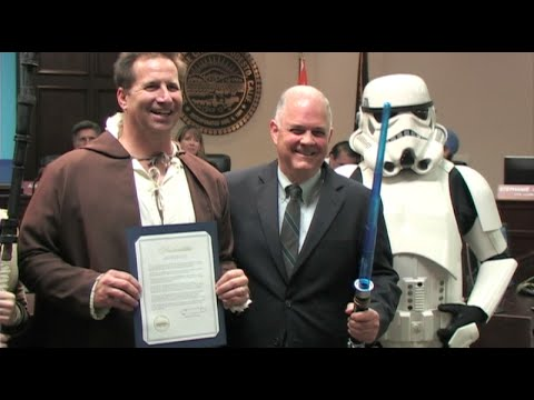 'May The 4th Be With You Day' Now Official Holiday In George Lucas Hometown