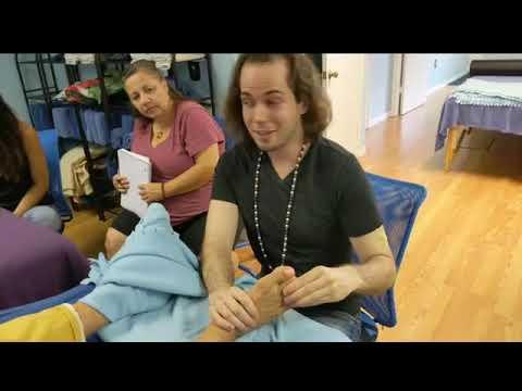 Foot Reflexology Demo Round 8