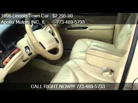 1996 Lincoln Town Car Cartier For Sale In Chicago Il 60639 Youtube