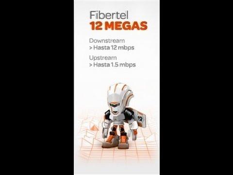 Test 12 megas fibertel Pv Buenos Aires, ciudad Campana, Argentina
