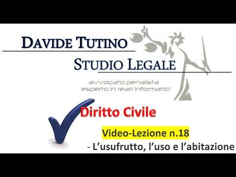 E Pignorabile L Usufrutto Diritto Civile - Video...
