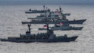 RIMPAC 2018: Multinational Ship Formation at Rim of the Pacific Exercise