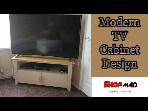TV Cabinet Entertainment Centre Unit build Free Plans