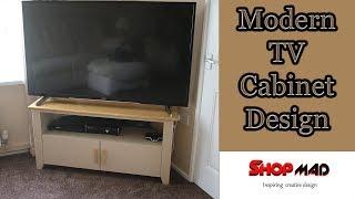 TV Cabinet Entertainment Centre Unit build Free Plans