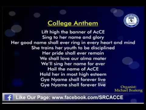 Accra College of Education college anthem Lyrics