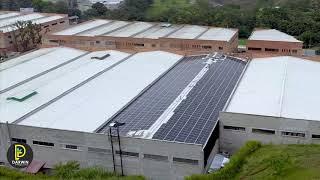 Proyecto de Energía Solar Empresa Plásticos Minipet