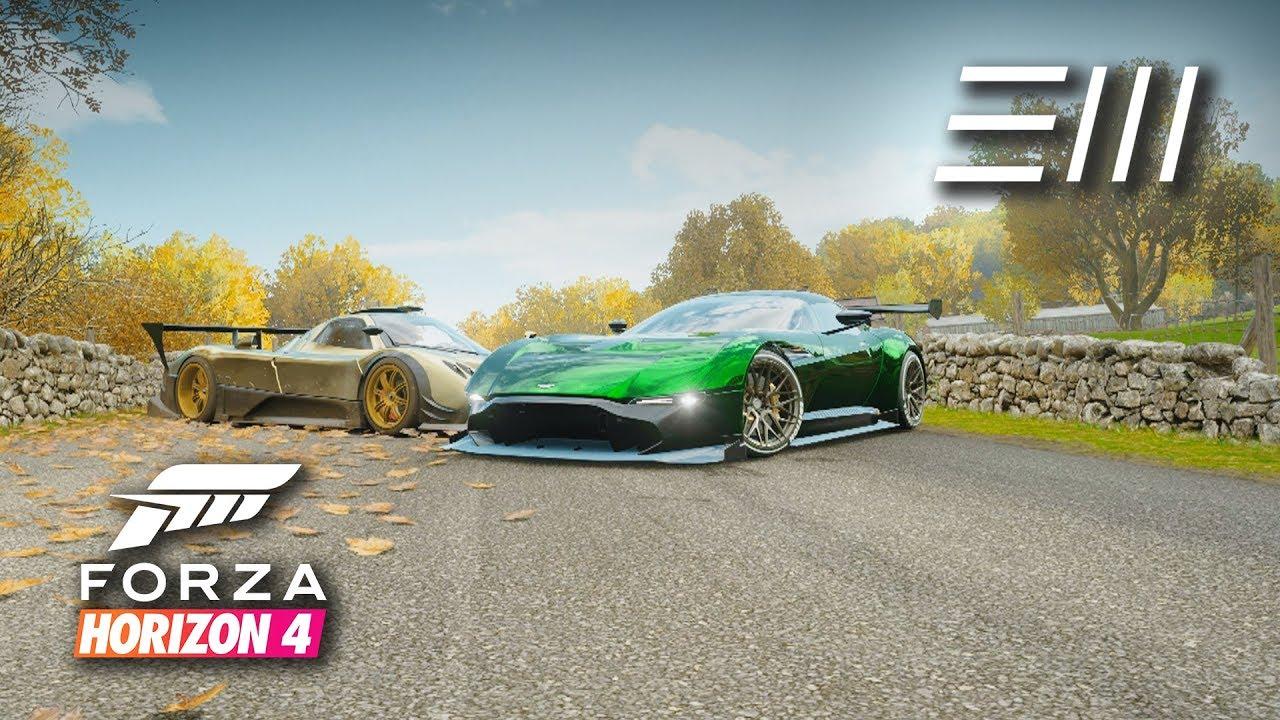 forza horizon 4 - vulcan vs zonda r | forza edition car challenge