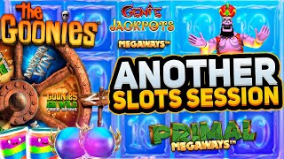Slots Session With Jimbo! Jammin, Goonies, Merlin & more + poker info!