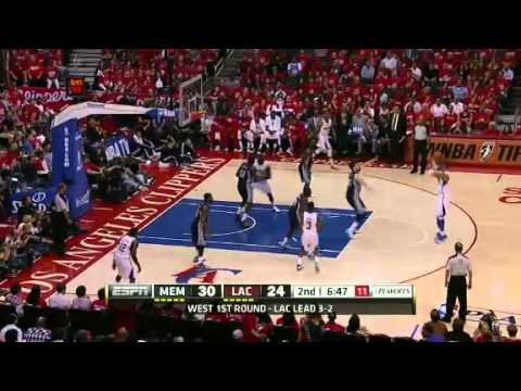 NBA Playoffs 2012: Memphis Grizzlies Vs LA Clippers Highlights May 11, 2012 Game Recap