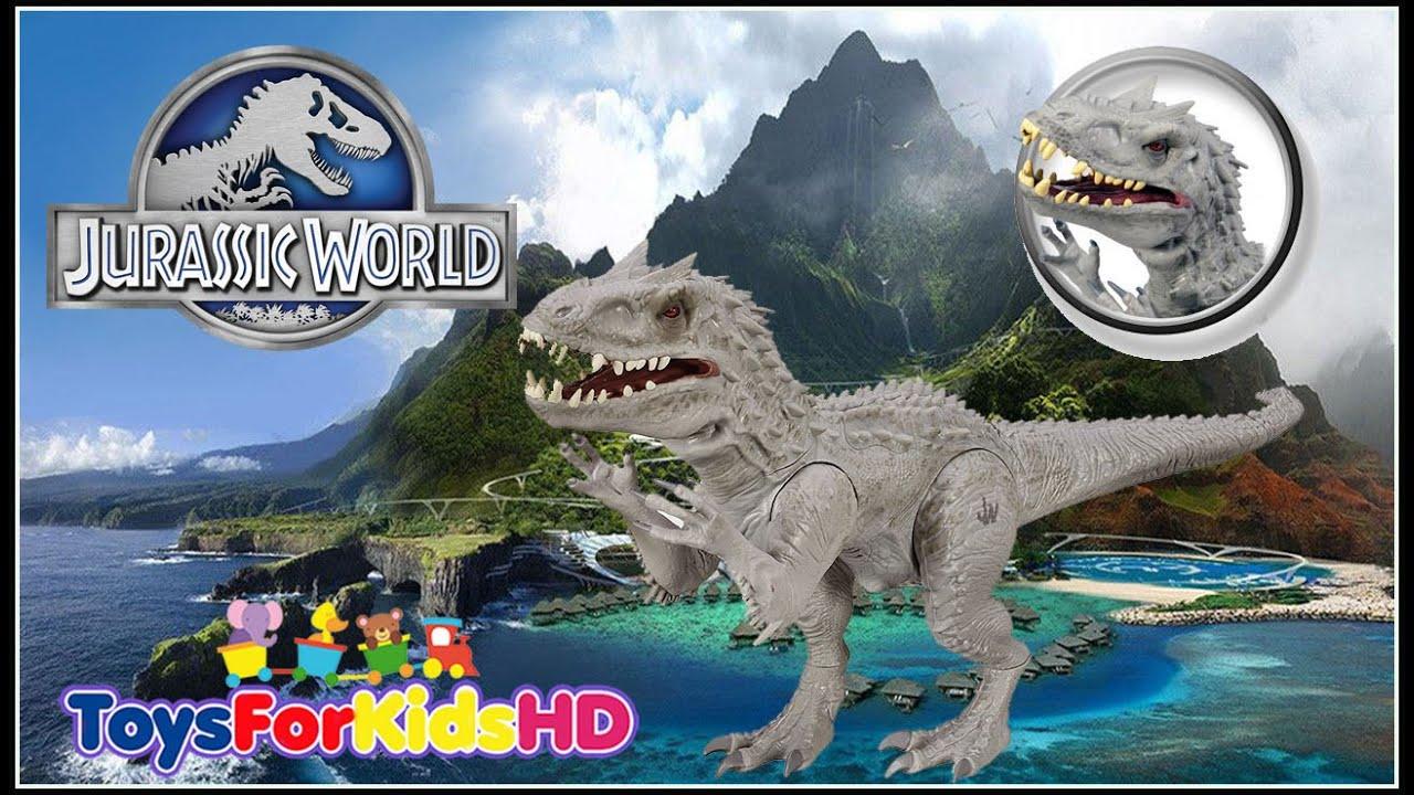 Jurassic World Indominus Rex - Juguetes de Dinosaurios - Juguetes de ...