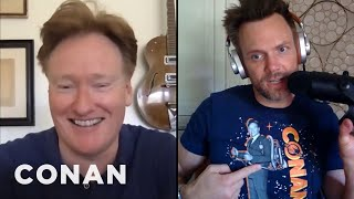 #ConanAtHome: Joel McHale Full Interview - CONAN on TBS