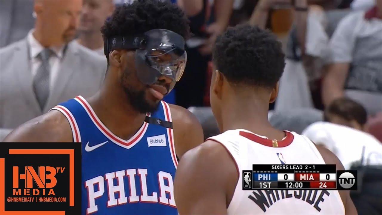 Miami Heat vs Philadelphia Sixers 1st Qtr Highlights ...