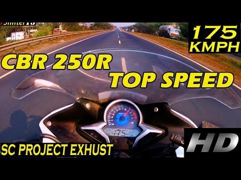 Honda cbr 250r top speed cbr 250r with sc project for Honda cbr250r top speed