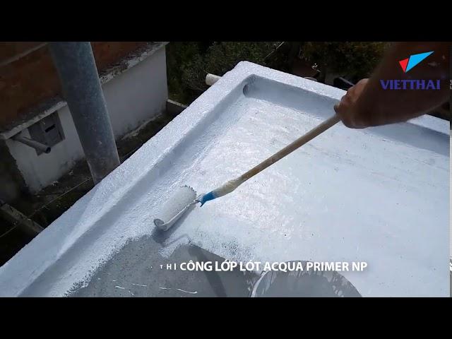 Video hướng dẫn thi công Neoproof polyurea cho Sàn mái