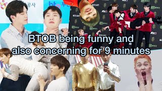BTOB being funny and also concerning for 9 minutes   funny BTOB moments