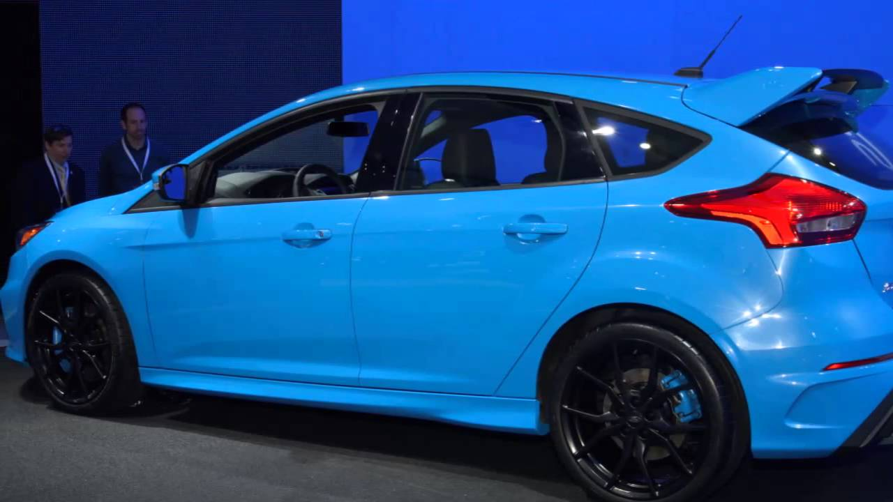 Ford Focus RS, The Performance Figures For The European Version ...