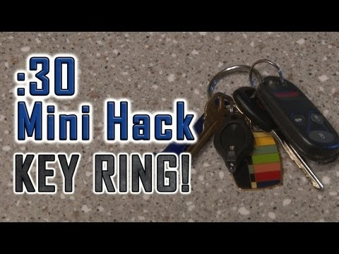 How to Make Key Rings Easy to Use!