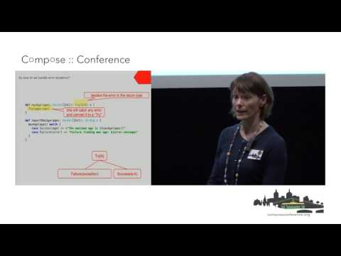 Sharon Holliday - Practical Programming in an Exception Free World