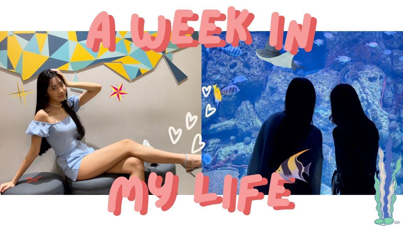 a week in the life | exams, casting, facials, meeting INTM people