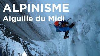Voie Carli Chassagne Face Nord Aiguille du Midi Chamonix Mont-Blanc alpinisme - 10853