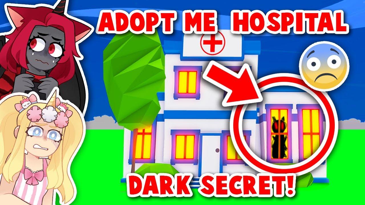 The Adopt Me Hospital Has A DARK SECRET! (Roblox)