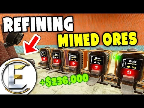 Refining Mined Ores - Gmod DarkRP Life (Mining For Gold And Other Materials Like Tycoon Simulator)