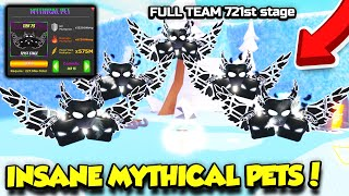 I GOT A FULL TEAM OF INSANE MYTHICAL PETS In Strongest Punch Simulator AND IT'S SO OP!! (Roblox)