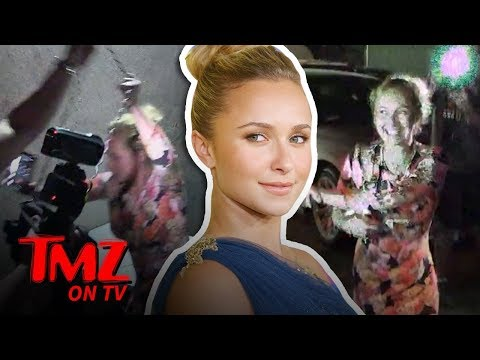 Hayden Panettiere Fights Back At Photogs!  TMZ TV