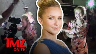 Hayden Panettiere Fights Back At Photogs! | TMZ TV