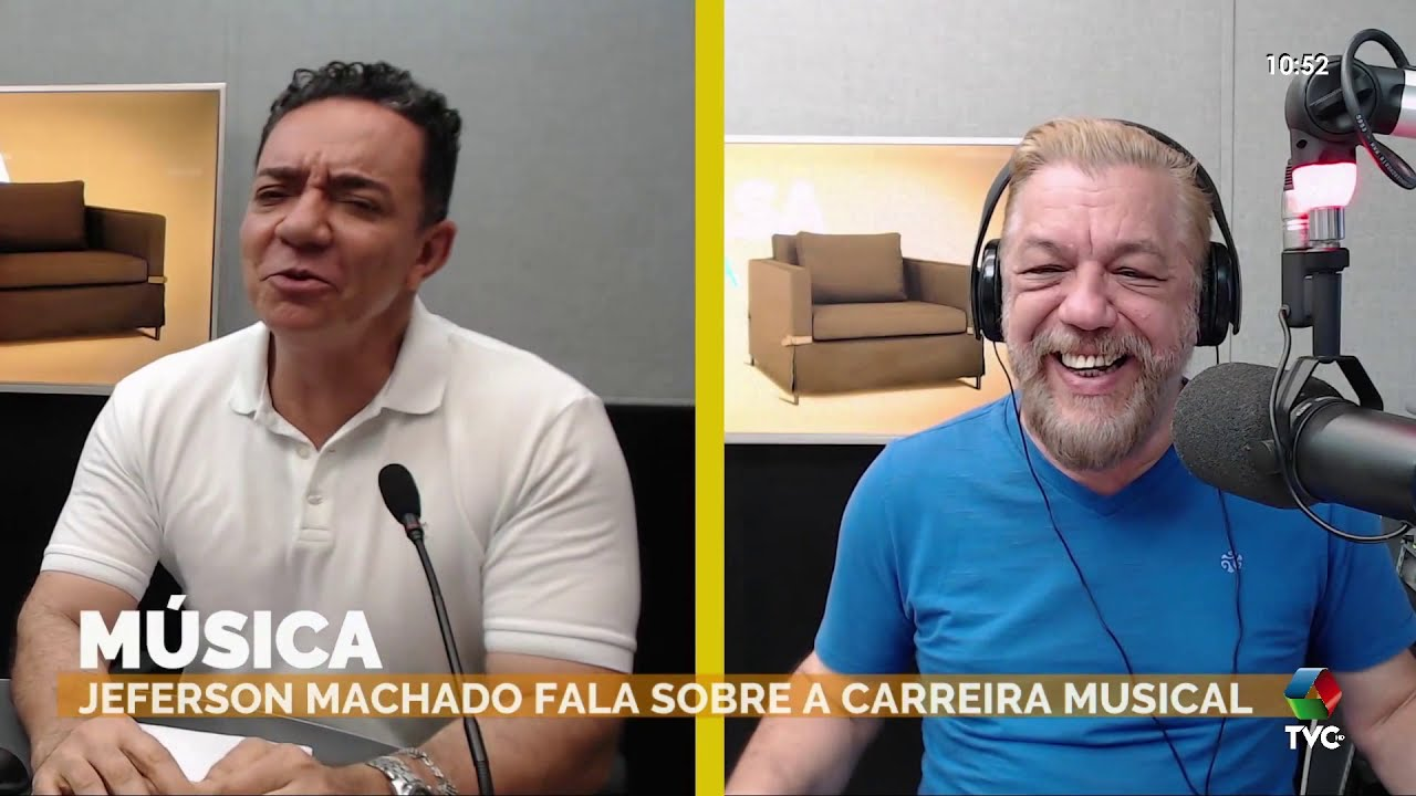 Jeferson Machado se apresenta no programa 'A Casa é Sua'