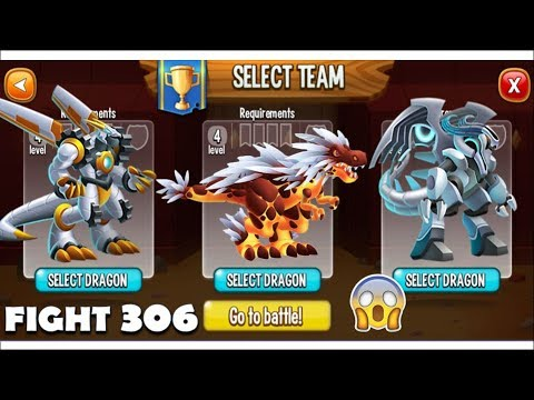 Dragon City - Random Fight + Exclusive Battles | Part 306 [Full Combat & Skills 2018]