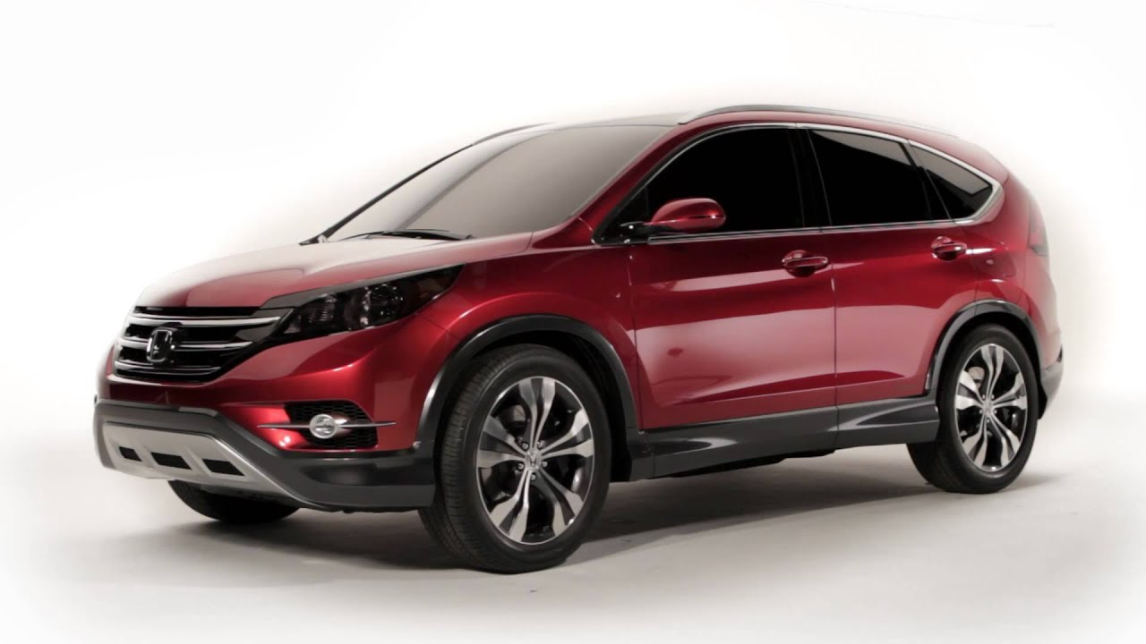 Honda Crv And Hrv >> Honda CR-V Concept - YouTube