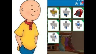 MAKING CAILLOU A ROBLOX ACCOUNT