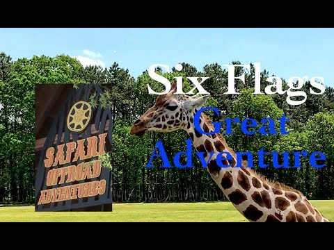 Safari Off Road Adventure at Six Flags Great Adventure - APT Rides - May 2017